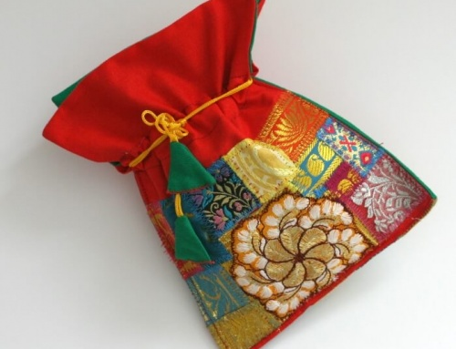 Patchwork purse bag