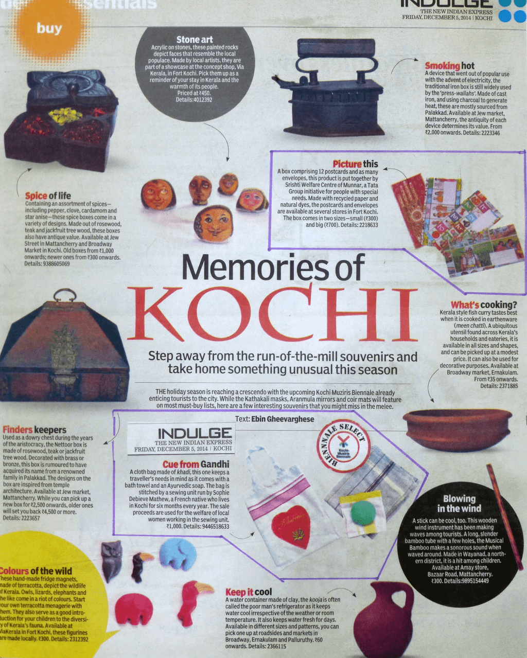 Magazine Memories of Kochi