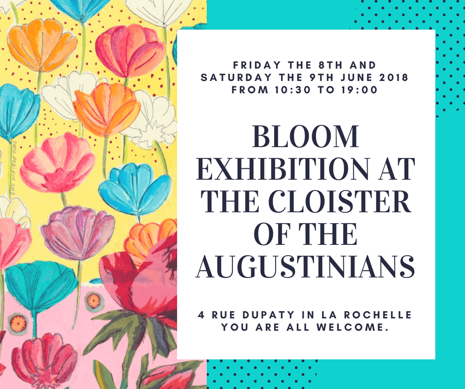 Bloom exhibition at the Cloister of the Augustinians